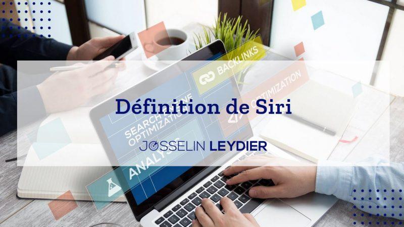 definition siri