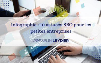 Infographie : 10 astuces SEO pour les petites entreprises