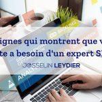 10 signes qui montrent que votre site a besoin d'un expert SEO